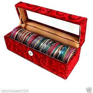 Atorakushon 1 roll rod wodden bangles box jewelery box