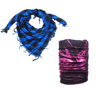 Sushito Designer Multi Use Womens Bandana With Scarf JSMFHHR0243-JSMFHMA0559