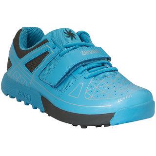 Zeven MenS Blue Cricket Velcro Shoes (ZFFW131M3BE)
