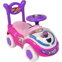 Ez Playmates Flash Car Kids Ride-On Pink/Purple