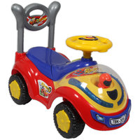 Ez Playmates Flash Car Kids Ride-On Red/Blue