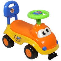Ez Playmates Cute Car Kids Ride-On Orange/Yellow