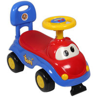 Ez Playmates Cute Car Kids Ride-On Red/Blue