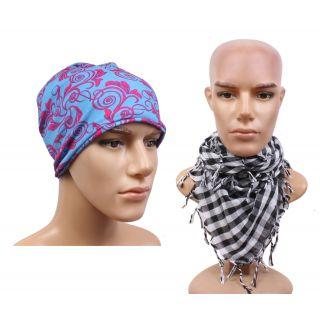 Sushito Designer Womens Bandana For Fashion With Scarf JSMFHHR0255-JSMFHMA0632