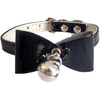 Pawzone Cat Black Collar with Bell