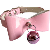 Pawzone Pink Cat Collar with Bell
