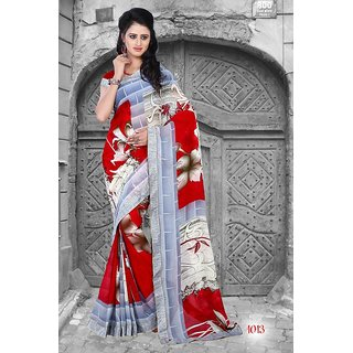 Thankar Multy Printed Georgette Saree