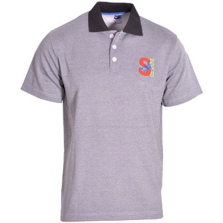 S-Board Mens Solid Polo T-Shirt