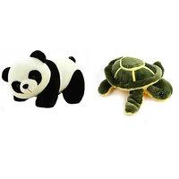 VRV Soft Toy Multicolor Turtle And Panda