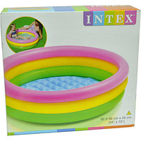 Intex Water tub Inflatable intex pool 3 ft diameter Baby Bath Seat