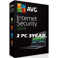 AVG Internet Security  2015 2PC 2.5YEAR