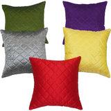 Box Quilting Cushion Cover 30/30 Cm Multi 5 Pcs Set