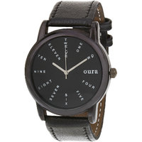 Oura Analog Round Casual Wear Watch For Men