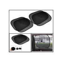 Hi Art Black Car Window Sun Shade For Ford Ikon - Set Of 4