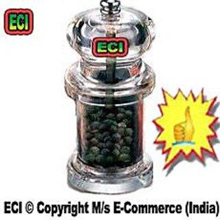 CROWN Acrylic Pepper Grinder Shaker Pepper Mill Crusher Sprinkler Dispenser