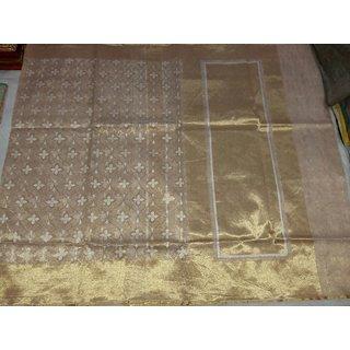 Net Tissue Sarees