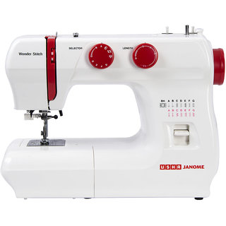 Usha Janome Wonder Stitch Sewing Machine available at ShopClues for Rs.12000
