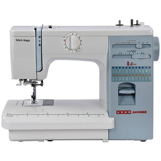 Usha Janome Stitch Magic Sewing Machine available at ShopClues for Rs.17500