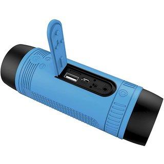 Selvel Waterproof Wireless Portable Bluetooth Speaker FM Radio With BlueTorch