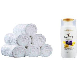 Hand Towel Set of 6  Pantene Shampoo