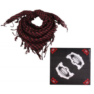 Sushito Multi Use Bikers Headwrap With Scarf JSMFHHR0245-JSMFHHR0199