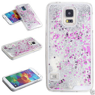 Aeoss 3D Glitter Bling Star Waterfall Back Case Cover Cases For Samsung S5 (A222)