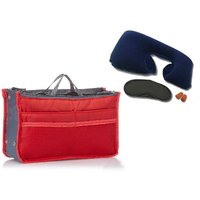 Urban Living Travel Kit and Organizer Bag Set Of Two - Assorted Color