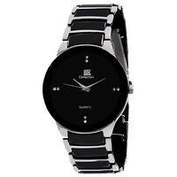 AF Iik Round Black Dial Party-Wedding Watch For Men