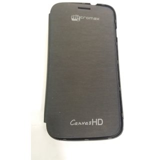 Designer FLIP Cover for MICROMAX A116 CANVAS HD ultra thin design light weighted perfect fit the phone available at ShopClues for Rs.299