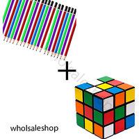 Set of 50 Pencils  Rubik cube