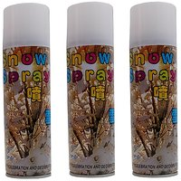 Seema Creations Party Snow Spray - Pack Of 3