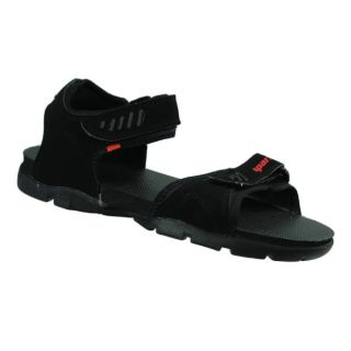 sparx sandals ss101 in black colour