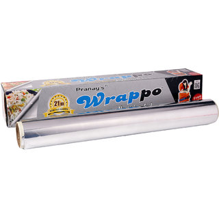 Pranays Cleanup Pack of 3 Aluminium Home Foil of 21 meter in Size