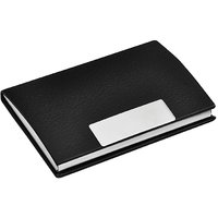 IHomes  Black Card Holder, Model No. 7  Size 9.5cm X 5.5cm X 0.5cm  Weight 42grams