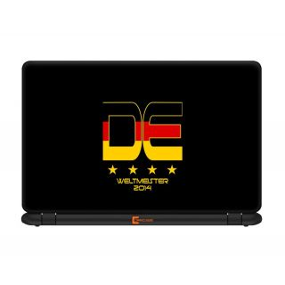 Germany Black Edition 13.3 inches Laptop skin