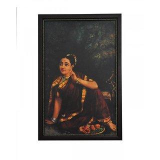Photo Frame A3 Size (18x12 inch) - Ravi Varma Picture