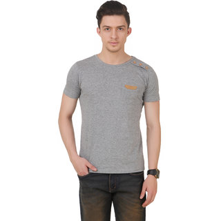 Frost Solid MenS Round Neck T-Shirt FRS150032