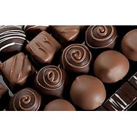 25 Pcs (250 GM) Home Made Roasted Almond Chocolates In Assorted Shapes, 100% Veg