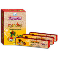 MaayasDeep Mandap Incense Stick-Masala Flora-Pack Of 8 Regular Pack-Total Approx-120 Sticks