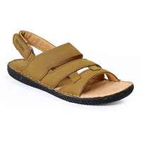 Red Chief MenS Tan Casual Velcro Sandals (RC390 CAMEL)