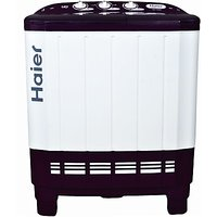 Haier Xpb 65-113S  6.5 Kg Semi Automatic Top Load Washing Machine Ruby Red