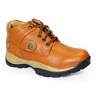 Red Chief Mens Tan Lace-Up Casual Shoes