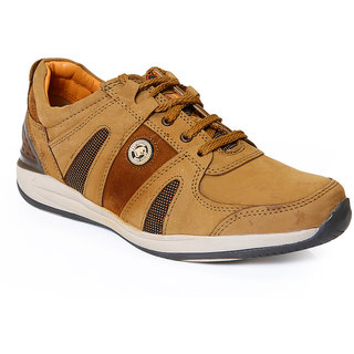 Red Chief MenS Tan Casual Lace-Up Shoes (RC2092 RUST)