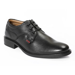 Red Chief MenS Black Formal Lace-Up Shoes (RC2282 Black)