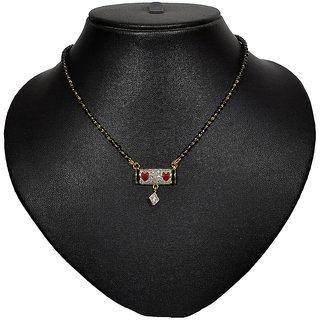 Pourni American Diamond Tanmaniya Mangalsutra for women - PRMS02