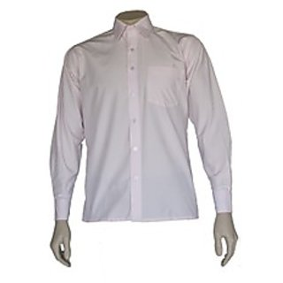 Saffire Pink Colored Art Silk Formal Shirt (Option 2)