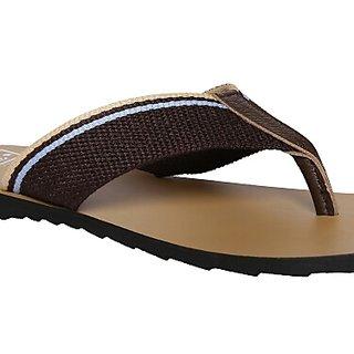 WE Brown Slippers
