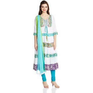 Rainbow Womens Anarkali Salwar Suit