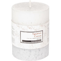 Egyptian Cotton Scented Pillar Candle