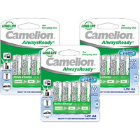 Camelion NH-AA1000ARBP4 *3 PACK  Rechargeable Battery